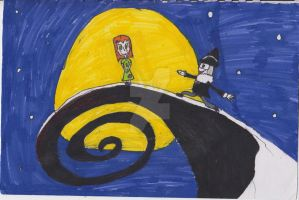 Nightmare before Christmas crossover by descolefan1