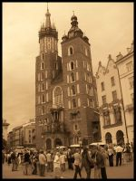 Krakow - Mariacki Church by ava-angel