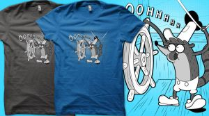 Trashboat Rigby T-Shirt by entangle