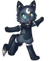 Fakemon :D Dark Electric Wolf by Night-Wolf122