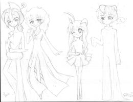 tutu -Ralts Evolutions- by firehorse6