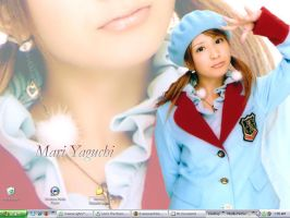Yaguchi Mari-san by EvanescentWednesday
