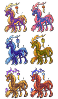 Quilin adoptables - open by TrollGirl
