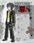 Aaron/Shadow Arsenal-Proxy High Student ID by Demonic-Frost-Wolf