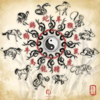 Chinese Zodiac Sign Tattoo by MPtribe
