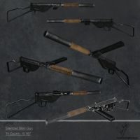 Silenced Sten Gun Lowers by sankalp23