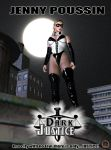 Dark Justice starring Jenny Poussin movie poster by Uroboros-Art