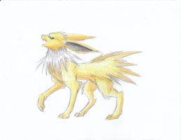 December 21st 2011: Jolteon by UltimateSassMaster