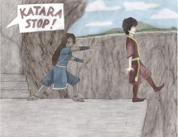 zutara week day 2 blood by sykochild21