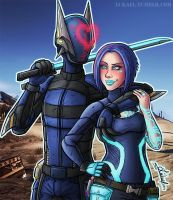Borderlands 2: Best Team by Lukael-Art