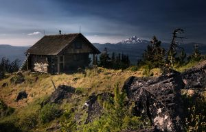 Black Butte Cabin by CezarMart