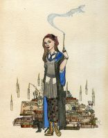 Myself in Ravenclaw by Kitty-Grimm