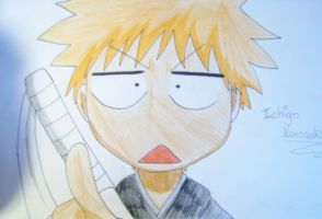 Epic Face -Ichigo Draw- by oOCookieChikaOo