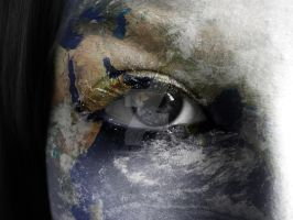 The World is in my Eyes by lensflarepictures