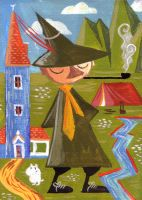 Snufkin by MumblingIdiot