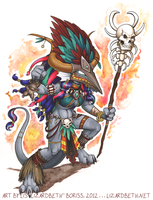 Inix Witch Doctor by Lizzie-Bean
