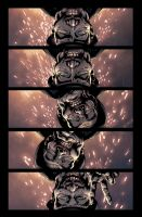 Marvel Zombies Destroy issue 3 page 2 by GarryHenderson