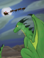 Santa-Hunt by Flame-Shadow
