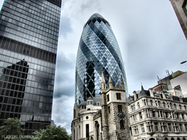 The Gherkin by FuckerBerrouz