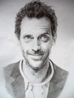 Hugh Laurie by AgaO