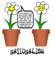 Nationalist Flowers by crizzlesbuttons