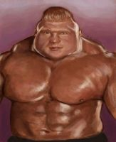 Brock Lesnar by jonesmac2006