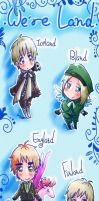 + APH We're LAND + by Koyo-Adorkabowl
