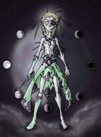 Azal, God of the Lunar Cycle by Bosshamster