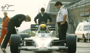 Ayrton Senna (Great Britain Test 1983) by F1-history