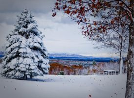 Second Snow of The Season by JPGagnon