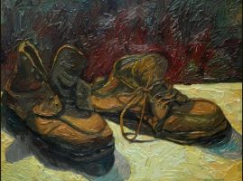 A Pair of Shoes by Rana-Tiba