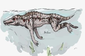 Ambulocetus Colour Concept by Benjee10