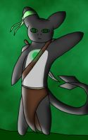 Anthro Erich - say hi by moonofheaven1