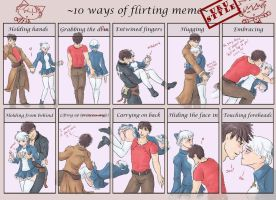 10 Ways of Flirting -Uru Style by bluevirgin