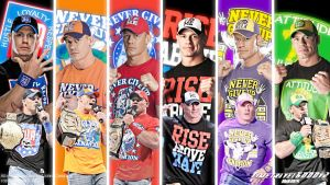 WWE John Cena HD Wallpaper V6 by Timetravel6000v2