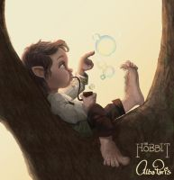 Little Mister Baggins by AlbaParis