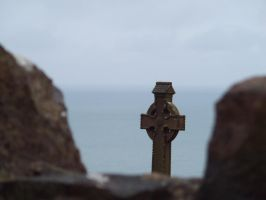 Celtic cross by buttercupminiatures