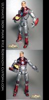 Custom Ultimate Iron Man fig by KyleRobinsonCustoms