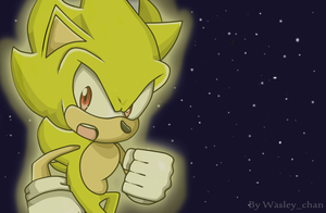 Super Sonic wallpaper by WasleyTheBronyCat