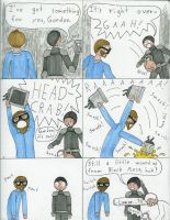Half-Life 2 Comic by pandarune