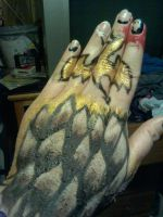 Smaug the Golden (Flying on My Fingers ) by SalemScream