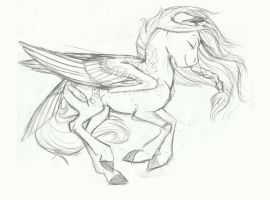 Riverwind Sketch by Earthsong9405 by StyxLady