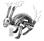 Mechanized Rabbit Skeleton by jbrenthill