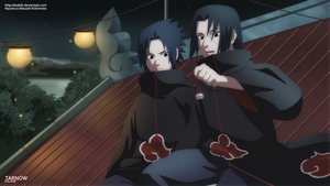Sasuke and Itachi: different world? by TeDeIk