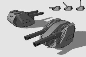 Balistae Light Cannon by TheOrangeGuy