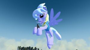 Cloudchaser Caught a Tiny by GMGTSP