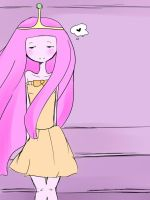 Princess Bubblegum quicksketch by srcpcsoha