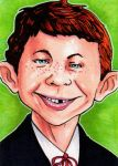 Alfred E Newman by Christopher-Manuel