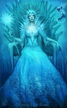Ice Queen for Talisman by feliciacano