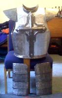 30-09-12 - Suit of armour by TwistedMethodDan